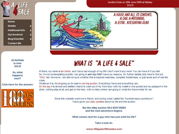 click to see ALife4Sale website