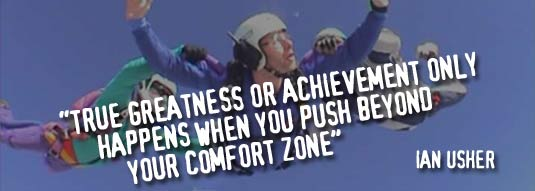 Quote skydive image