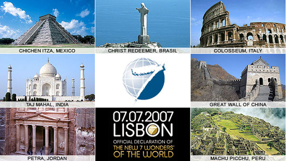 essay on new seven wonders of the world New 7 wonders of the world on 7/7/7 (a string of sevens) the new seven wonders of the world were announced by the new 7 wonders foundation (n7w), a privately funded.